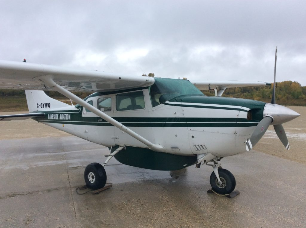 Charter Cessna 206 Aircraft in Manitoba